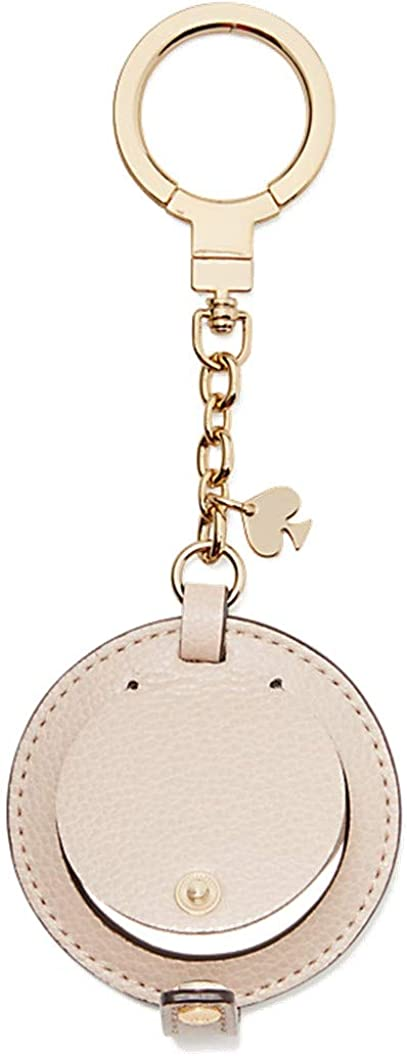 Kate Spade New York Women's Circle Mirror Leather Keychain
