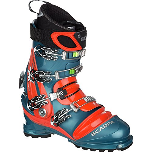 Scarpa Men's TX Pro Ski Boots Lyons Blue / Red Orange 25