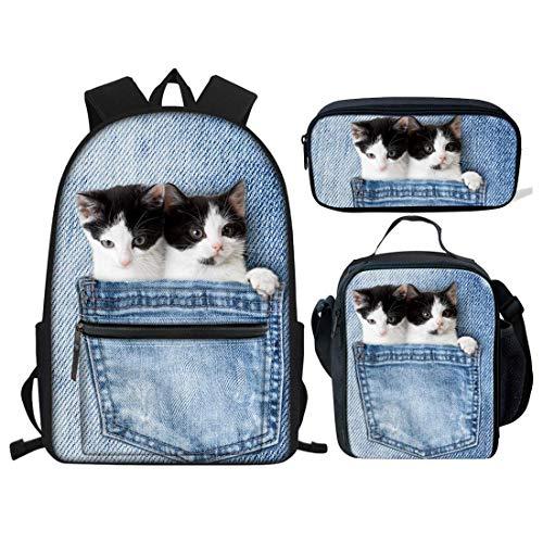 Teens Kitten - HUGS IDEA Pocket Kitten Cute School