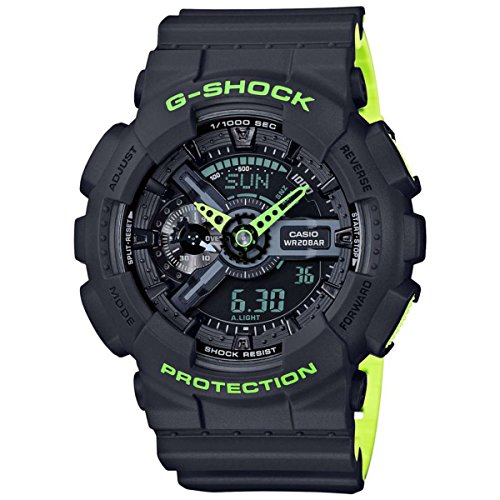 G Shock Mens GA 110LN Gray Watch