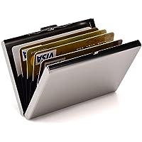 RFID Blocking Metal Slim Wallet ID Credit Card Holder Case Protector