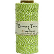 Hemptique Baker's Twine Spool 50-Gram, Lime