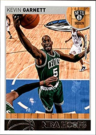 afc5281caf26d Amazon.com: 2013-14 NBA Hoops #65 Kevin Garnett Brooklyn Nets ...