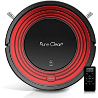Pyle Smart Robotic Vacuum Cleaner - Scheduled Activation and Auto Recharge Dock - Allergy and Pet Friendly