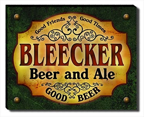 Bleecker Beer & Ale Stretched Canvas (Bleecker Canvas)
