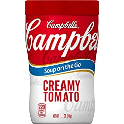 Campbell's Soup on the Go Creamy Tomato ...