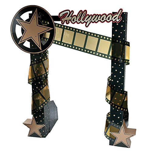 Hollywood Nights Archway Cardboard Stand-Up by Fun Express
