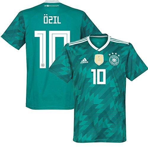 adidas Germany Away Özil 10 Jersey 2018/2019 (Offcial Printing) - L