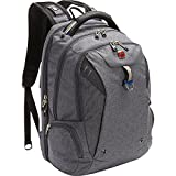 SwissGear Travel Gear TSA Approved 15 Inch Laptop Backpack 5902 - (Heather Grey/Navy)