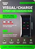 Sharper Image Visual Charge 6 Port USB Charging Hub