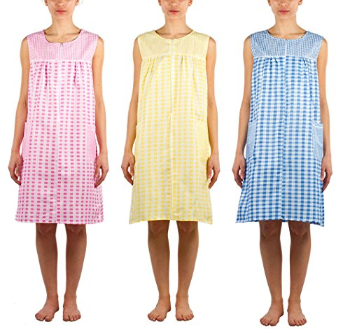 JOTW 3 Pack of Shift Duster Dress - Medium to 3X Available (509) (Pack A, Extra Large)