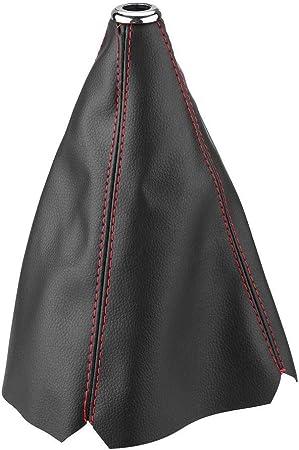Universel Cuir Noir gear stick knob cover Gaiter tous Van Voiture Camion