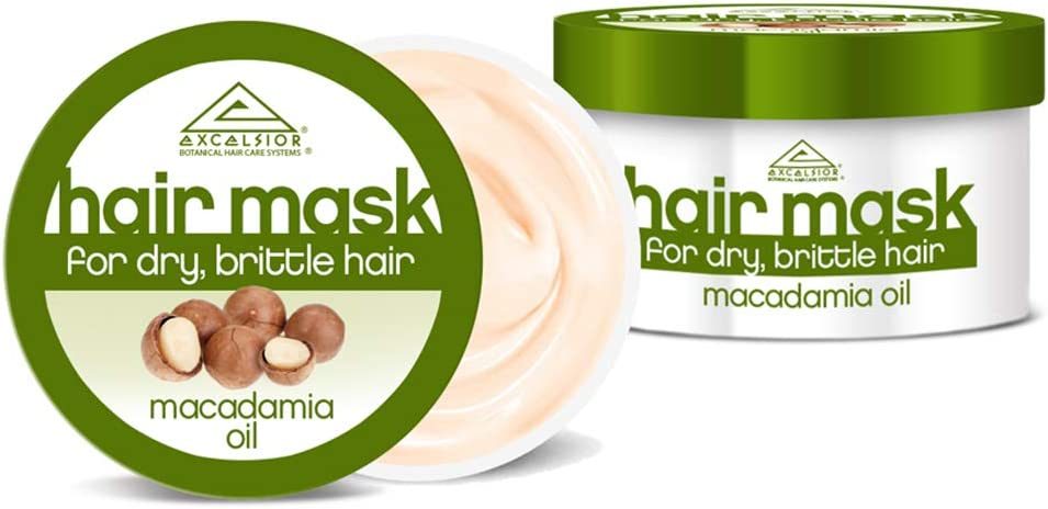 Máscara Excelsior Macadamia Aceite de pelo Tarro 175 ml (Pack de 3)