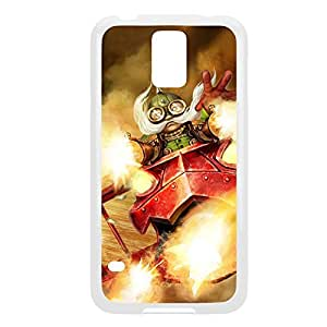 Corki-007 League of Legends LoL For Case Samsung Galaxy Note 2 N7100 Cover - Plastic White