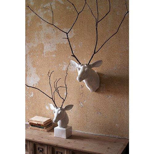 Kalalou Mount White Ceramic Mounted product image