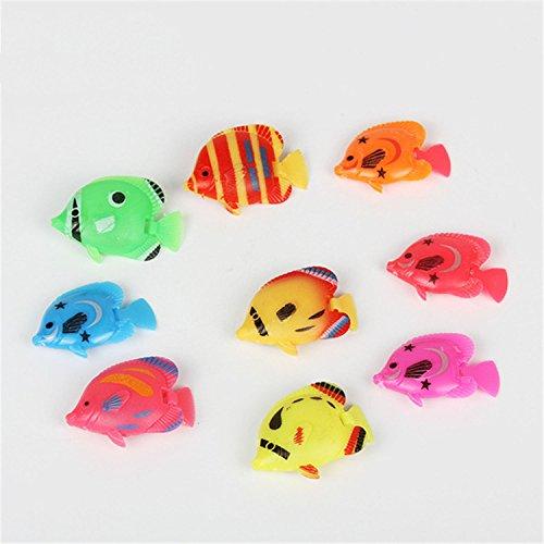 Legendog 20PCS Plastic Fish Aquarium Decor Creative Floating Simulated Fish Aquarium Ornament Fish Tank Animal by Legendog (Image #3)