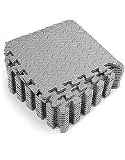 Exercise Pad,Funien 12PCS 30 * 30cm Protective Floor Mat Anti-slip Bubble Bowl Foam Exercise Cushion