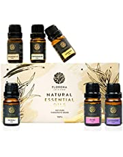 Florona Essential Oil Gift Set In One Aroma Oil Pack for Diffuser, Humidifier, Massage, Aromatherapy, Skin & Hair Care