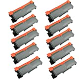 10 Packs Shopcartridges® New Compatible Black Brother TN660 TN-660 TN630 TN-630 Toner Cartridge Replacement for HL-L2300/L2300D/L2340/L2340DW/L2360DN/L2365DW/L2380DW DCP-L2500D/L2520DW/L2540DW MFC-L2700DW/L2720DW/L2740DW high yield of 2,600 pages
