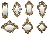 IMAX 52977-7 Loletta Victorian Inspired Mirrors, Set of 7