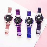 80e91f763e3d De Lujo para Mujer de Cuarzo Rhinestones Relojes-Moda Starry Sky ...
