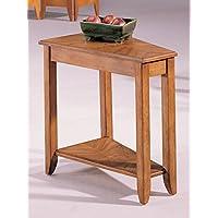 Hammary Chairside Table w Storage Shelf
