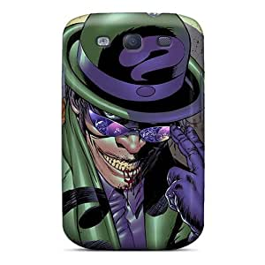 Rewens Galaxy S3 Hybrid Tpu Case Cover Silicon Bumper The Riddler I4