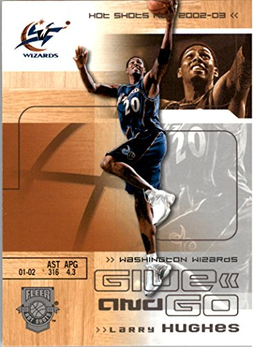 2002-03 Fleer Hot Shots #129 Larry Hughes Michael Jordan - NM-MT