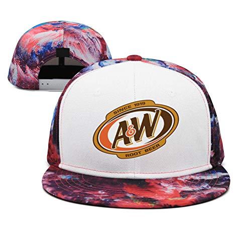 (ftuyuy erett Unisex A&W-Root-Beer-Logo- Vintage Cap Sun Hats)