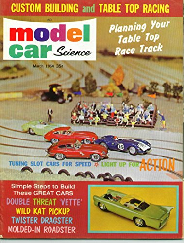 Model Car Science Magazine March 1964