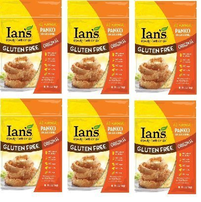 Ian's Gluten Free Panko Bread Crumbs [ Original ] 6 Pack by Ian's