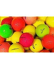 lbc-sports LbcGolf Bijna nieuwe gekleurde golfballen doos van 25 Optische Lake Balls fun