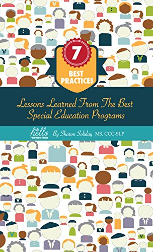 Special Education Best Practices And >> Amazon Com 7 Best Practices Lessons Learned From The Best