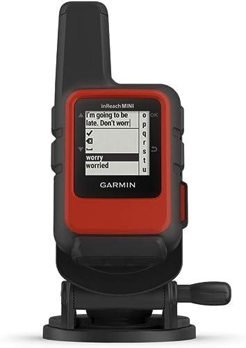 Garmin inReach Mini Marine Bundle, Lightweight and Compact Handheld Satellite Communicator with Screw Down Mount