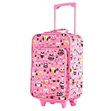 Olympia Kids 17 Inch Carry-On Luggage, Pink, One Size
