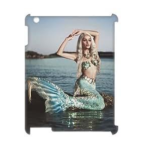 ALICASE Diy Cover Custom Case Mermaid For IPad 2,3,4 [Pattern-1]