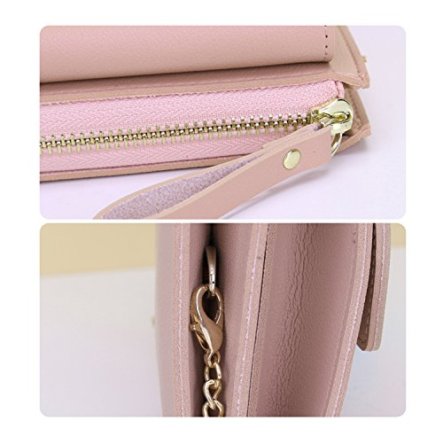 Strap Clutches Casual Women Handbag NOTAG With Clutch Leather Party Bag Pink2 Evening Envelope Chain For PU PwSUnwqB5H