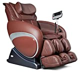 16027 Zero Gravity Feel Good Massage Chair Recliner by Berkline Furniture – Brown For Sale