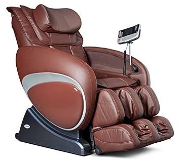16027 Zero Gravity Feel Good Massage Chair Recliner by Berkline Furniture – Brown