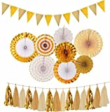 Gold engagement decorations%2C Gold Pape