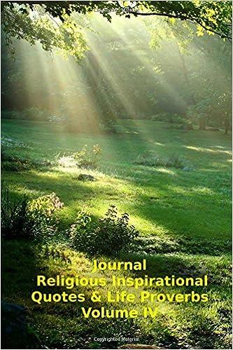 Amazon Journal Religious Inspirational Quotes Life Proverbs Stunning Religious Inspirational Quotes