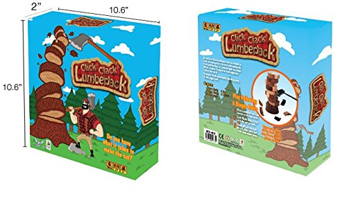 Click Clack Lumberjack Revised Edition Board Game