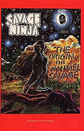 Amazon.com: Savage Ninja #1 FN ; Cadillac comic book ...