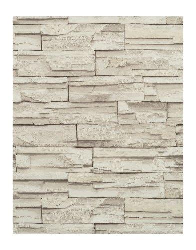 York Wallcoverings RN1040 Modern Rustic Travertine Wallpaper