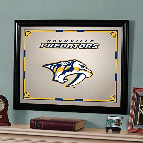 The Memory Company NHL Nashville Predators Official Mirror, Multicolor, 23 x 18 by The Memory Company