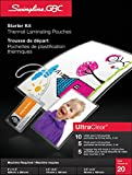 Swingline GBC Ultraclear Lamination Pouch Starter Kit, Assorted Sizes, 20 Pack (6447457180)