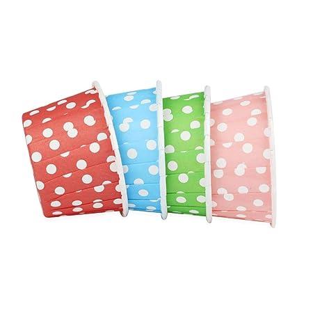 Moldes para tazas para hornear 4 colores mezcla patrón de ...