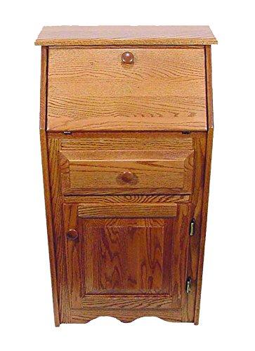 Heirloom Oak Secretary Desk - Amish Made in USA