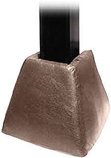 première Équipe Ft80g Foam-vinyl Soufflet Pad pour 6x 8in. Manivelle ajuster Base seulement & # 44; Gris First Team