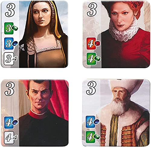 Splendor Board Game (Base Game)   Family Board Game   Board Game for Adults and Family   Strategy Game   Ages 10+   2 to 4 players   Average Playtime 30 minutes   Made by Space Cowboys